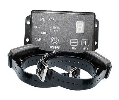 Waterproof Rechargeable Electric Dog Fence Training Collar Petrainer 803/ 2 dogs