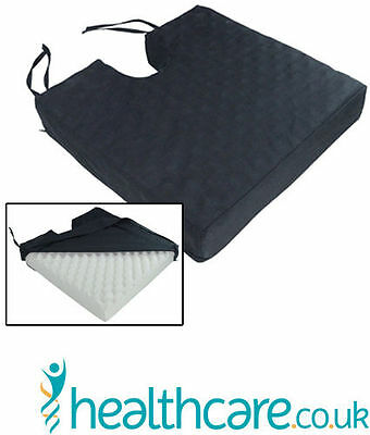 Wheelchair, Car Mobility Deluxe Pressure Relief Orthopaedic Coccyx Cushion