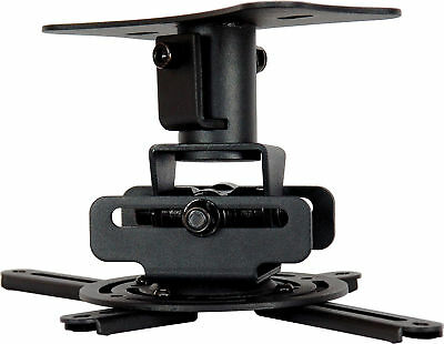 UNIVERSAL ROTATING PROJECTOR CEILING MOUNT HOLDER 15kg NEW