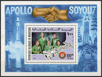 Mauritania 1975 SG#MS493 Air, Apollo-Soyuz Space Link MNH M/S #A80300