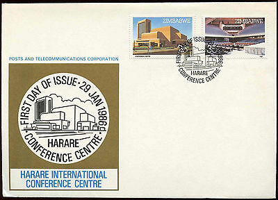 Zimbabwe 1986 Harare Conference FDC First Day Cover #C14290