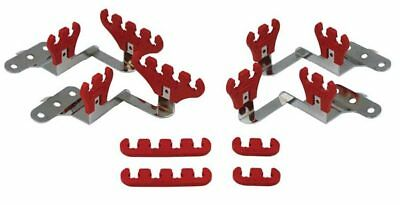 Moroso 72141 Small Block Chevy Wire Loom Kit for Centerbolt Heads - Red - 7-9mm