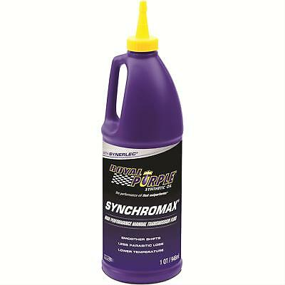 Royal Purple 01512 Synchromax Synthetic Manual Transmission Fluid - 1 Quart