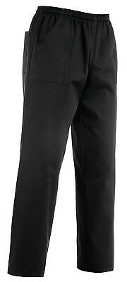 Pantaloni Cuoco Coulisse Dark Colore Nero Egochef Made In Italy Chef Pants Chef