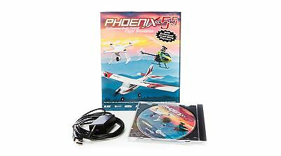Phoenix R/C Pro Airplane Helicopter Simulator Without Transmitter V5.5 RTM5500