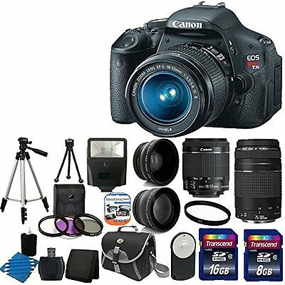 Canon EOS Rebel T3i 18 MP CMOS Digital SLR Camera USA warranty with canon EF-S 1