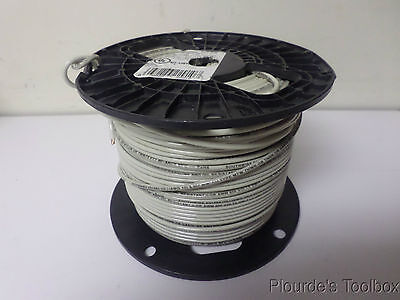 Approx. 350ft New Southwire Stranded Copper Wire, 12 AWG, 600V, White, E51583