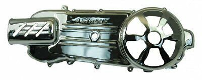 CHROME PERFORMANCE BELT DRIVE / CRANKCASE COVER FOR 150cc GY6 LONG CASE MOTORS