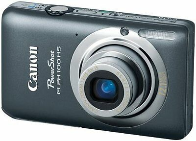 Canon PowerShot ELPH 100 HS 12.1 MP CMOS Digital Camera with 4X Optical Zoom (Gr