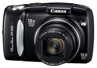 Canon PowerShot SX120IS 10MP Digital Camera with 10x Optical Images Stabilized Z