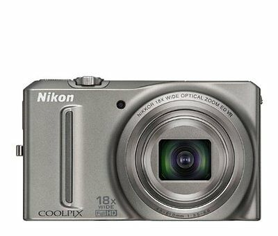 Nikon COOLPIX S9100 12.1 MP CMOS Digital Camera with 18x NIKKOR ED Wide-Angle Op