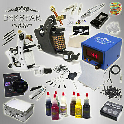 Complete Tattoo Kit Professional Inkstar 2 Machine JOURNEYMAN & CASE GUN Radiant