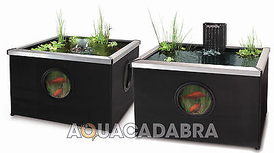 Blagdon Affinity Black Fish Pond Koi Coldwater Patio Aquarium Pool Water Feature