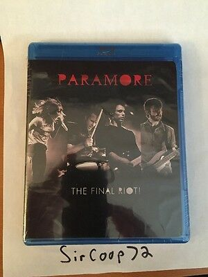 Paramore - The Final Riot (Blu-ray Disc, 2009) + Audio/Video from Twilight Movie