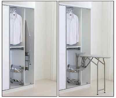 Fold Away Wall Mounted Ironing Board System