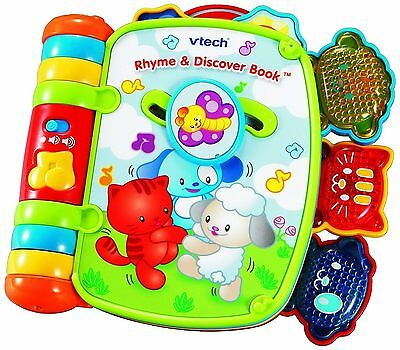 Vtech Rhyme Discover Book Baby Toddler Toys Kids Play Learning Fun