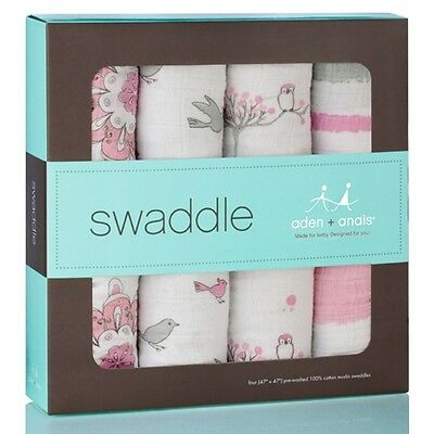New Aden & Anais 4 Swaddle Aden and Anais Blankets For The Birds