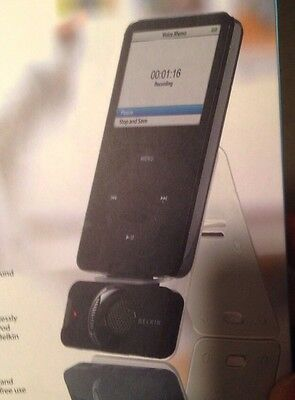 Belkin TuneTalk Stereo For Ipod Video-- Plugs Into Ipod Video To Record Audio
