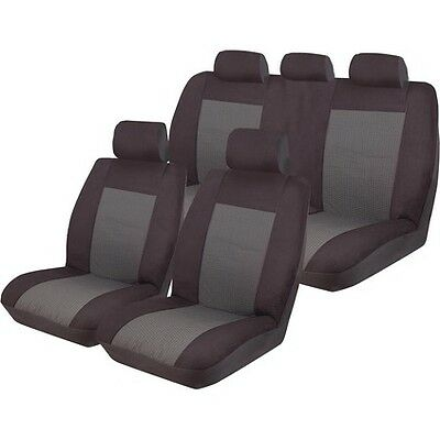 Tailor Made Front Car Seat Covers Only Black Esteem