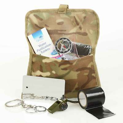 Emergency Military Survival Kit Equipment Bushcraft Hiking Camping Outdoor Cadet