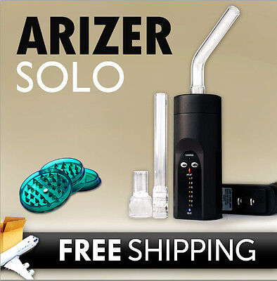 2015 Arizer Solo Vaporizer w/FREE Priority Shipping + grinder-Brand new portable