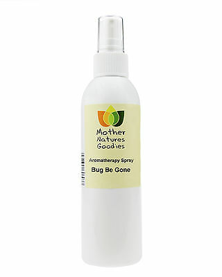 BUG BE GONE Aromatherapy Room & Body Spray (Natural Essential Oils) 100ml 200ml