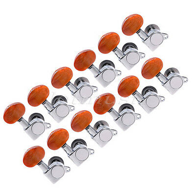 12R Guitar String Tuning Pegs Tuners Machine Heads For Electric Acoustic Parts