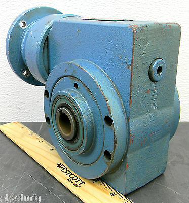 Swedrive AB XEM 50 Gear Box 133 Gear Drive 22.5:1 Speed Reducer Used