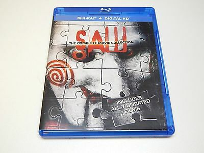 SAW Complete Movie Collection Blu-Ray 3 Disc Set | NO DIGITAL ULTRAVIOLET COPY