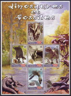 Dinosaurs & Fossils on Stamps M0955