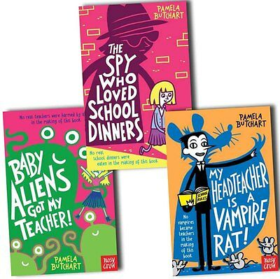 Pamela Butchart Collection 3 Books Pack Set-The Spy Who Loved School Dinners, Ba