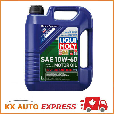 Liqui Moly Synthoil Race Tech GT1 SAE 10W-60 Fully Synthetic Engine Oil 5L 2024