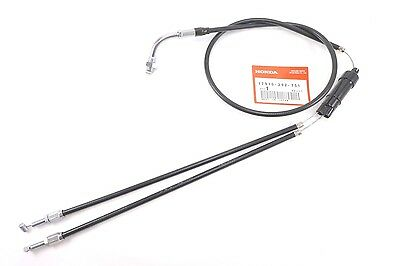 OEM Upper and Lower Throttle Cable Honda CL 450 CL450K Scrambler 1967 - 1974 NEW