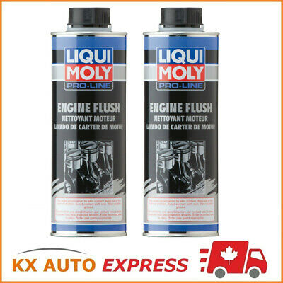 2x Liqui Moly Pro-Line Engine Flush 500ml LiquiMoly 7712 2037