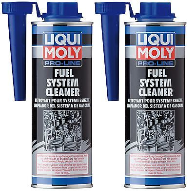 2x Liqui Moly Pro-Line Fuel System Cleaner 500ml LiquiMoly 2030 7986