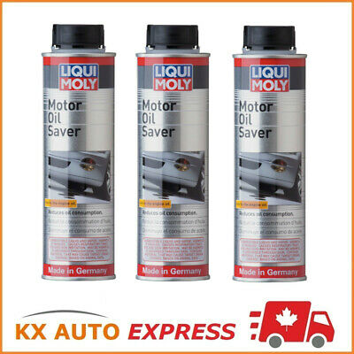 3x Liqui Moly Motor Oil Saver (Stops Oil Leakage & Blue Smoke) 300ml 2020