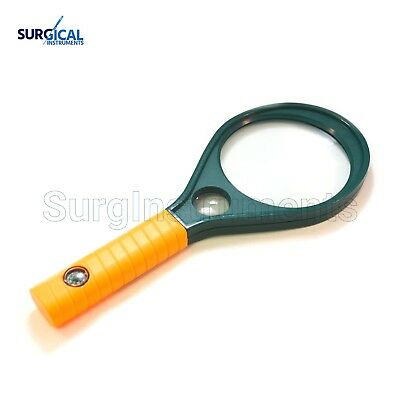 "Magnifying Glass 3""- Compass Handle, Optical Magnifier"