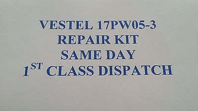 Vestel 17pw05-3 power supply REPAIR KIT Sharp,Toshiba, Hitachi , Digihome ECT