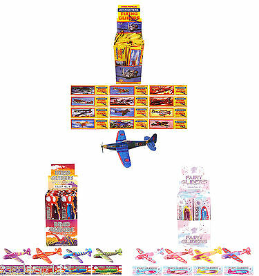 Dinosaur Fairy WWII Planes Flying Gliders Childrens Birthday Party Bag Fillers