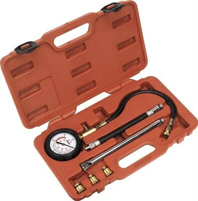 Sealey Petrol Engine Compression Tester Deluxe Kit 6pc