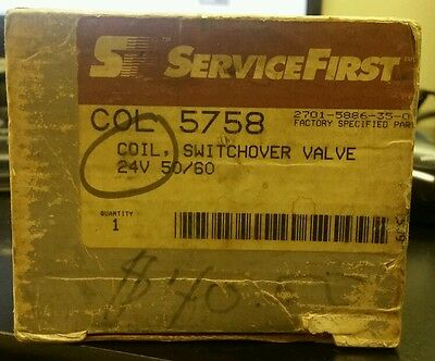 ServiceFirst coil switchover valve COL5758