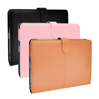 "Leather Case Cover Bag for Apple Macbook Pro 15"" with Retina A1398"