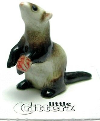 "Little Critterz LC610 - Rescue Ferret named ""Polecat"" (Buy any 5, get 6th free!)"