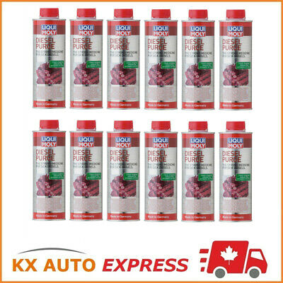 12x Liqui Moly Diesel Purge Fuel & Injection System Cleaner 500ml LiquiMoly