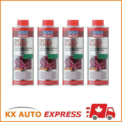 4x Liqui Moly Diesel Purge Fuel & Injection System Cleaner 500ml LiquiMoly