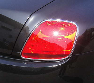 BENTLEY CONTINENTAL GT AND GTC CHROME REAR LIGHT TRIMS x 2