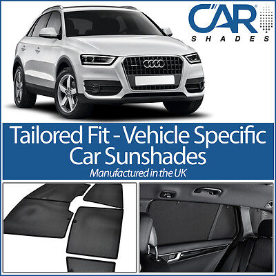 Audi Q3 5dr 12 On CAR WINDOW SUN SHADE BABY SEAT CHILD BOOSTER BLIND UV