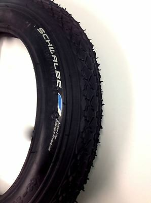 "12 1/2"" x 2 1/4"" Manual Transit Wheelchair tyre Black Schwalbe 62-203 pnuematic"
