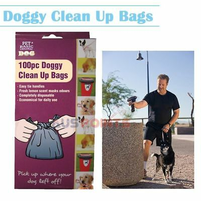 Disposable Lemon Scented Dog Clean Up Bags Waste Poo Litter Wholesale 600x 1200x