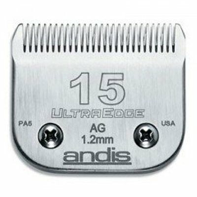 ANDIS 15 CLIPPER BLADE. 1.2mm, 3/64""
